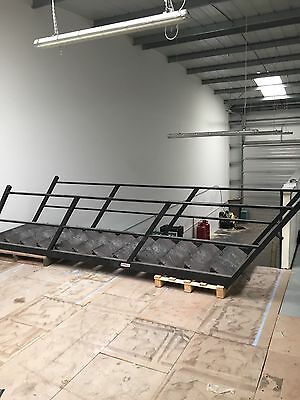 Mezzanine Floor With Stairs,dimensions In Photos.