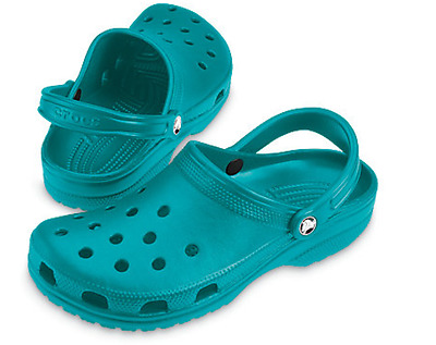 Adults Unisex Classic Crocs In TURQUOISE Various Sizes