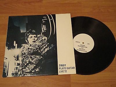 David Bowie Ziggy Plays Guitar Live '72 Lp