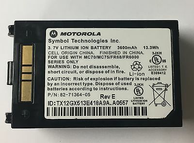 Motorola MC70, Motorola MC75, Motorola FR68 Battery Brand New & Boxed pack of 2