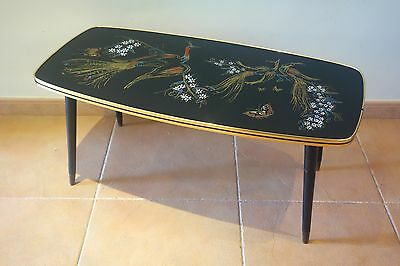 Mesa auxiliar 1960s Francia vintage mesita coffee side table french mid century