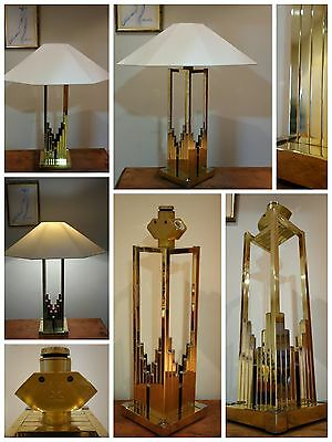 Lámpara vintage BD LUMICA diseño Willy Rizzo design vintage lamp 1970s