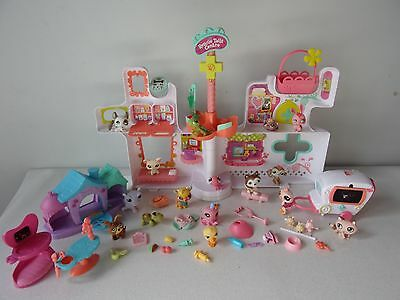 LITTLEST PET SHOP - MAISON HOPITAL + FIGURINES + ACCESSOIRES -n°43-