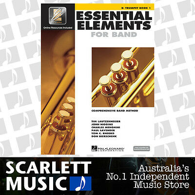 Essential Elements For Band Book 1 (One / First) - Bb Trumpet w/ EE Interactive