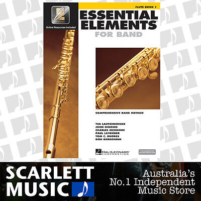 Essential Elements For Band Book 1 (One / First) - Flute w/ EE Interactive *NEW*