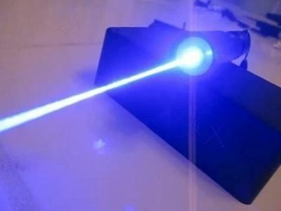 High Power 2 Watt Blue Laser Pointer 450nm Pointer Pen Adjustable Visible Beam