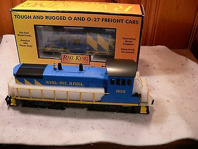 MTH 30-20052-1  Wheeling Pittsburgh steel sw900m switcher and caboose 30-77192