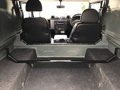 Land Rover Defender 90/110/130 Bulkhead Removal Bar - TIG welded & Powdercoated
