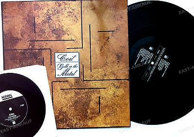 Coil - Gold Is The Metal GER LP + Bonus 7inch Single 1990 + Innerbag //1
