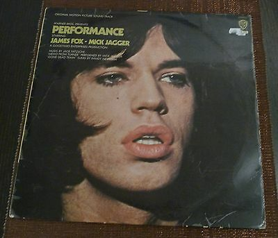 # J. Fox & M. Jagger (Rolling Stones) PERFORMANCE Germany 1970 Rare LP-S01036