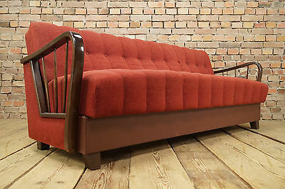 50er Rockabilly COCKTAIL SOFA BETT DAYBED COUCH VINTAGE Mid-Century STILNOVO