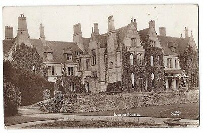 IWERNE MINSTER Iwerne House RP Postcard by EP Rolls, Postally Used 1912
