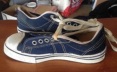 1970's Converse Straight ShooterS, Old Store Stock, Unworn,Boys 1 1/2's USA