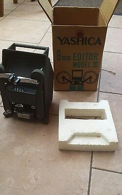 Yashica 8 Film Editor Model III Working And Boxed