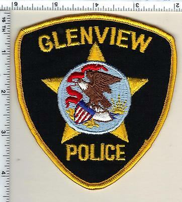 Glenview Police (Illinois)  Shoulder Patch - new from 1991