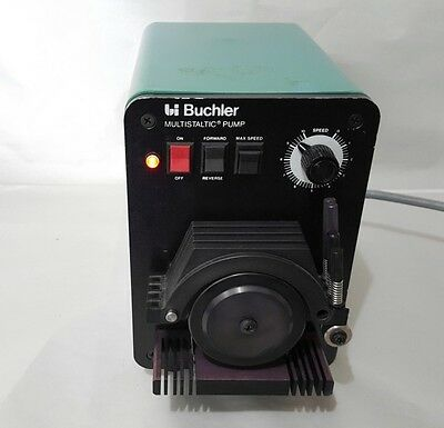 Haake Buchler Multistaltic Pump Peristaltic Tubing Variable Speed 4 Channel