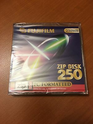 Zip 250 - Pc Formated - Fujifilm - New