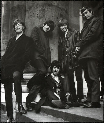 The Rolling Stones Poster Page 1960S With Brian Jones . Y8