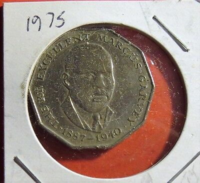 Jamaica 1975 Fifty cent Coin Circulated Lot C12 BX1
