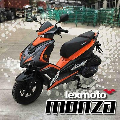 Lexmoto Monza125cc Scooter/Moped Brand New 2017 Euro 4