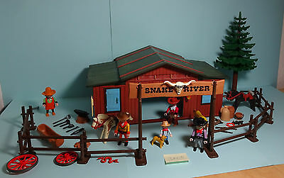Playmobil Western ~ Snake River Ranch (3805)