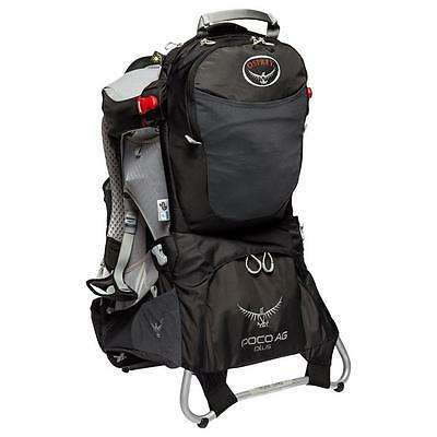 Osprey Poco Plus AG Child Carrier Black One Size Black