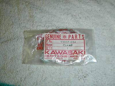 KAWASAKI Air Box Clamp H1 Mach KH500 1969-1976 AHRMA NOS OEM 16036-004