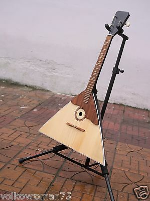 BALALAIKA Original Сlassical Ukrainian-Russian 3 string Balalayka, Bonus Strings