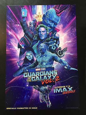 Guardians of the Galaxy Vol. 2 IMAX Poster [EXCLUSIVE & LIMITED]