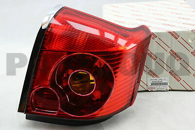 8156105130 Genuine Toyota LENS & BODY, REAR COMBINATION LAMP, LH 81561-05130