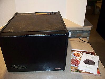 706 Excalibur 3900 T Parallexx 9-Tray Deluxe Family Size Food Dehydrator