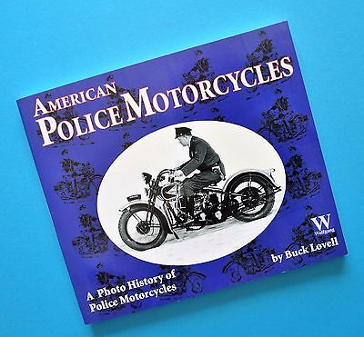 1910-85 Harley JD VL GA FL FLH Indian Scout Chief Ace Police Motorcycle Book