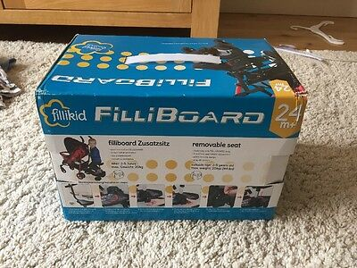 BNIB fillikid FilliBoard Removable Seat For Buggy Board New In Box