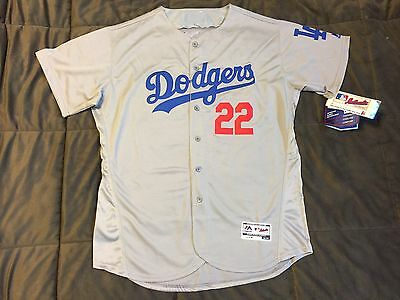 Men's Los Angeles Dodgers Clayton Kershaw Majestic Road Jersey, L, NWT SALE