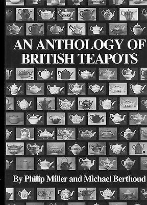 British Ceramic Teapots -Types Shapes Makers Dates (2,268 Teapots) / Scarce Book