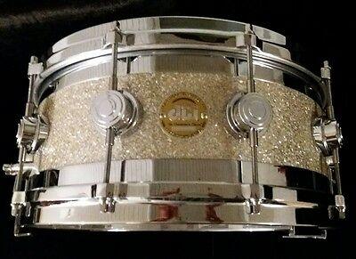 "Dw drums workshop collectors edge maple snare 14""x 6"" rullante batteria edge"