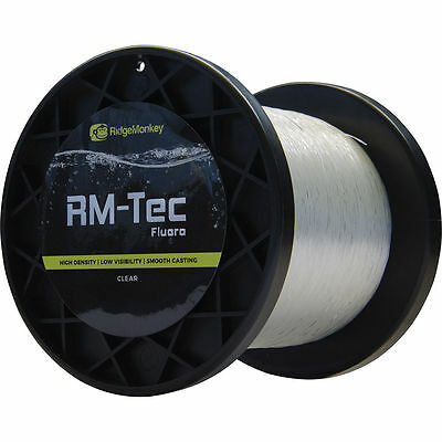 Ridgemonkey NEW RM-Tec Sinking Low Stretch Ridge Monkey Carp Fishing Fluoro Line