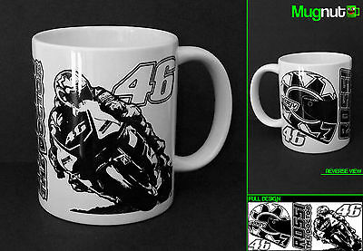 Valentino Rossi #46 - Ceramic Mug - The Doctor Moto GP Yamaha VR46 - 11oz Gift