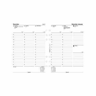 2018 FILOFAX A5 Week on Two Pages Diary with Appointments - English- 18-68521