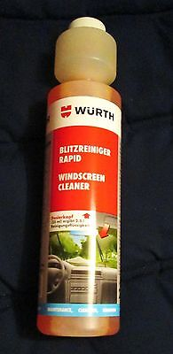 Rapid Windscreen Cleaner 250ml Concentrate Screen Wash