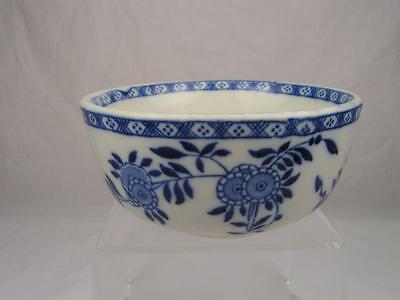 Dudson Delph Sugar Bowl, Vintage Blue and White Bowl (Like Delft Pattern)
