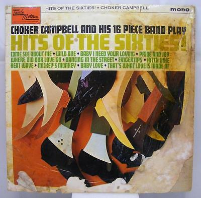 Choker Campbell - Hits Of The Sixties - Tamla Motown TML 11011