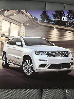 2017 JEEP GRAND CHEROKEE ACCESSORIES 16-page Original Sales Brochure