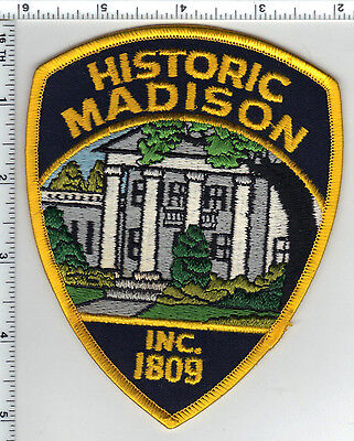 Madison Police (Indiana)  Shoulder Patch - new from the 1980s
