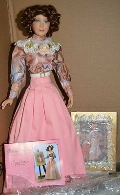 Charlotte Artist Paradise Galleries The Impressionists Doll 20 inches Rare