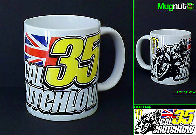 Cal Crutchlow #35 - Ceramic Mug - Moto GP Tech3 Monster - 11oz Coffee Cup Gift