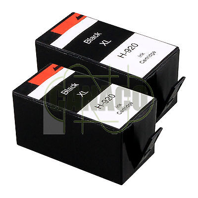 2 CYAN 920XL HIGH YIELD 920C CD972AC Ink Cartridge for HP Printer NEW CHIP