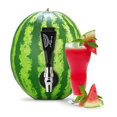 Final Touch Black Watermelon Keg Tapping Kit, Beverage Serveware Party & Dining