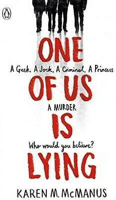 One Of Us Is Lying - Book by Karen McManus (Paperback, 2017)