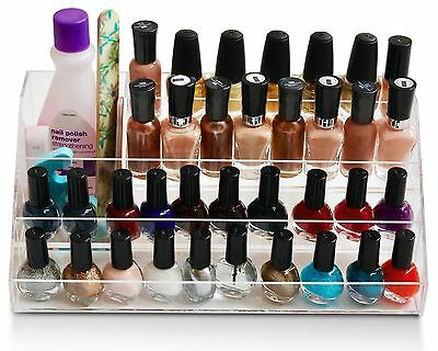 daisi Nail Polish Holder | Multi-Level Premium Quality Acrylic Organizer